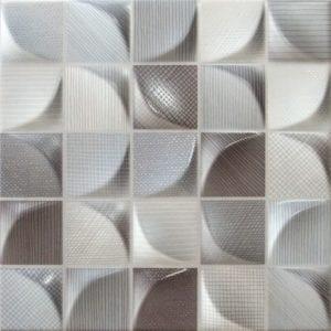 Tilefly.com Revestimiento Ceramica 3d tissu dark 25x25